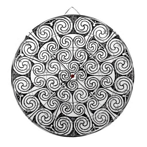 Diseño céltico 6 tabla dardos