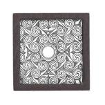 Diseño céltico 7 caja de joyas de calidad