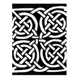 Diseño céltico 7 postales