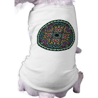 Diseño céltico de encargo del extracto del nudo camiseta de perro
