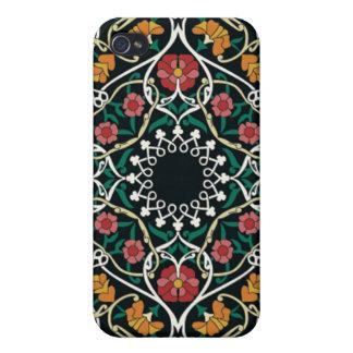 Diseño céltico de encargo del extracto del nudo iPhone 4 protectores