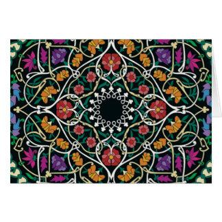 Diseño céltico de encargo del extracto del nudo tarjeta de felicitación