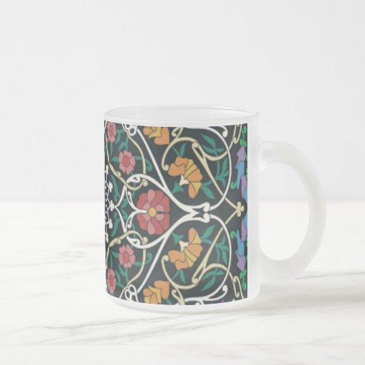 Diseño céltico de encargo del extracto del nudo taza de café