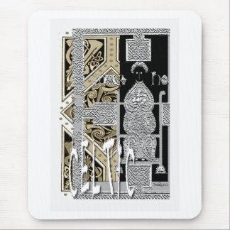 Diseño céltico del arte tapetes de ratón