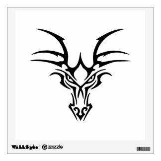 Diseño céltico del dragón vinilo decorativo