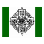 Diseño céltico postal