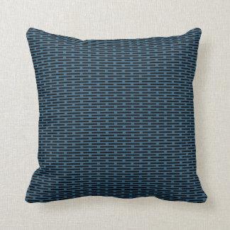 Diseño chino/asiático azul 11 de la almohada del m