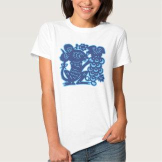 Diseño chino de la camiseta del zodiaco - remera