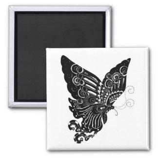Diseño chino de la mariposa del Papel-Cut - imán