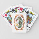 Diseño chino del dragón baraja de cartas