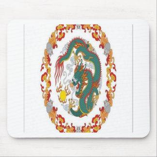 Diseño chino del dragón tapetes de ratón