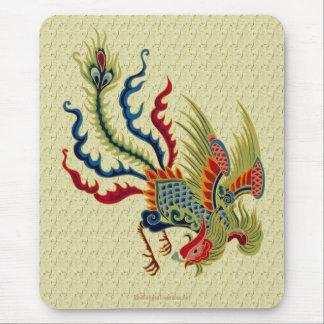 Diseño chino Mousepad del arte del gallo