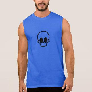 Diseño cinco del cráneo camiseta sin mangas