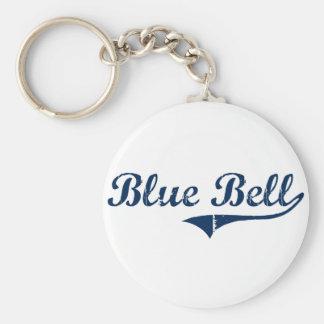 Diseño clásico azul de Bell Pennsylvania Llaveros