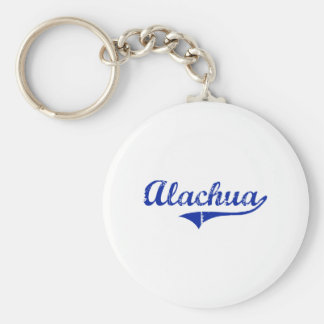 Diseño clásico de Alachua la Florida Llavero Redondo Tipo Pin