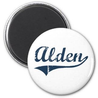 Diseño clásico de Alden Nueva York Imán Redondo 5 Cm
