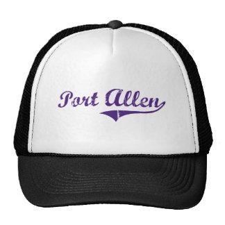 Diseño clásico de Allen Luisiana del puerto Gorras