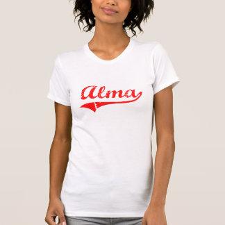 Diseño clásico de Alma Georgia Camisetas