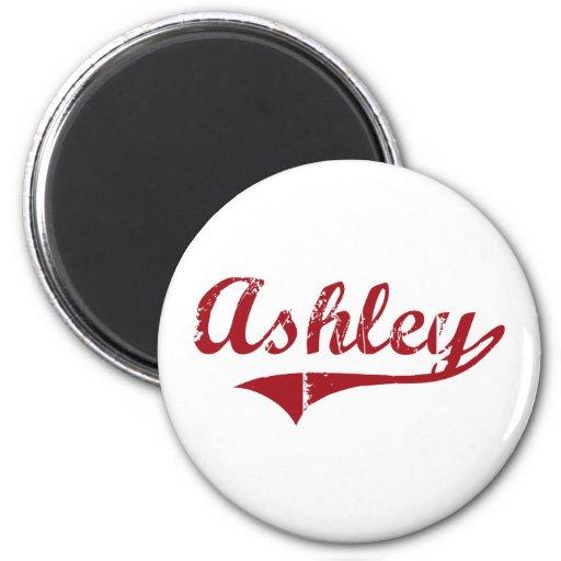 Diseño clásico de Ashley Ohio Imán Redondo 5 Cm