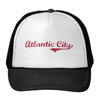 Diseño clásico de Atlantic City New Jersey Gorros
