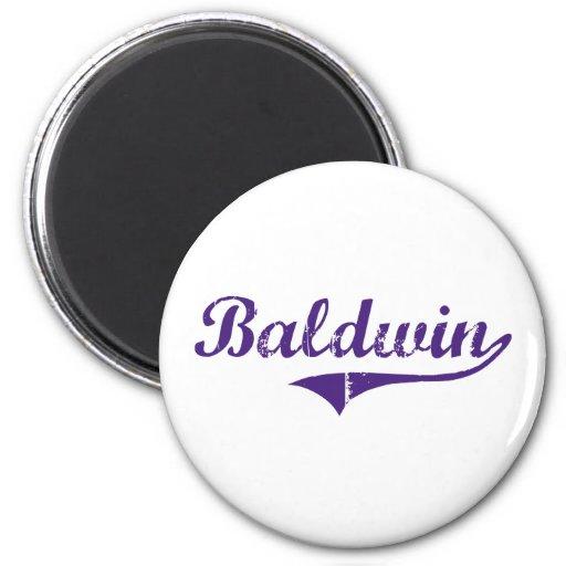 Diseño clásico de Baldwin Luisiana Imán Redondo 5 Cm