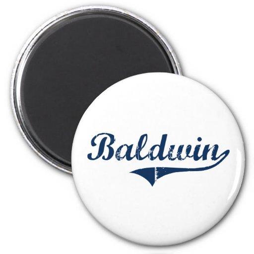 Diseño clásico de Baldwin Pennsylvania Imán