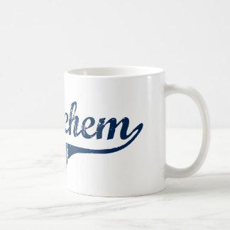 Diseño clásico de Belén Pennsylvania Tazas De Café