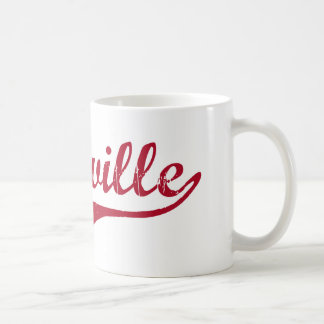 Diseño clásico de Belleville New Jersey Tazas De Café