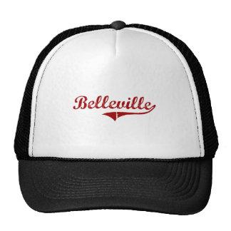 Diseño clásico de Belleville Wisconsin Gorra