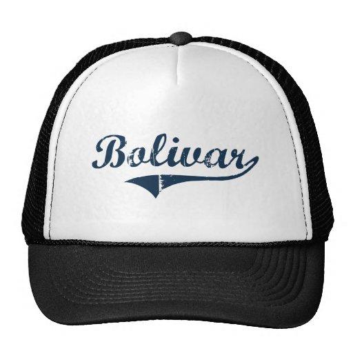 Diseño clásico de Bolivar Nueva York Gorras De Camionero