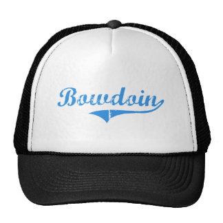 Diseño clásico de Bowdoin Maine Gorros Bordados