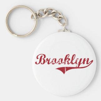 Diseño clásico de Brooklyn Ohio Llaveros Personalizados