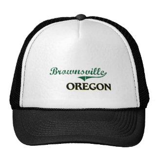 Diseño clásico de Brownsville Oregon Gorras De Camionero