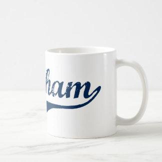 Diseño clásico de Burnham Pennsylvania Taza De Café