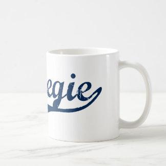 Diseño clásico de Carnegie Pennsylvania Tazas De Café