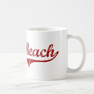 Diseño clásico de Carolina del Sur de la playa de Taza De Café