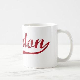 Diseño clásico de Chardon Ohio Tazas De Café