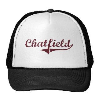Diseño clásico de Chatfield Minnesota Gorra