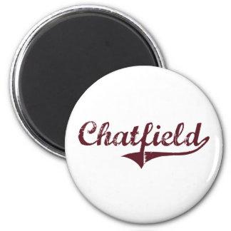 Diseño clásico de Chatfield Minnesota Imán Para Frigorifico