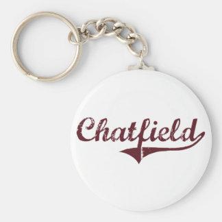 Diseño clásico de Chatfield Minnesota Llaveros