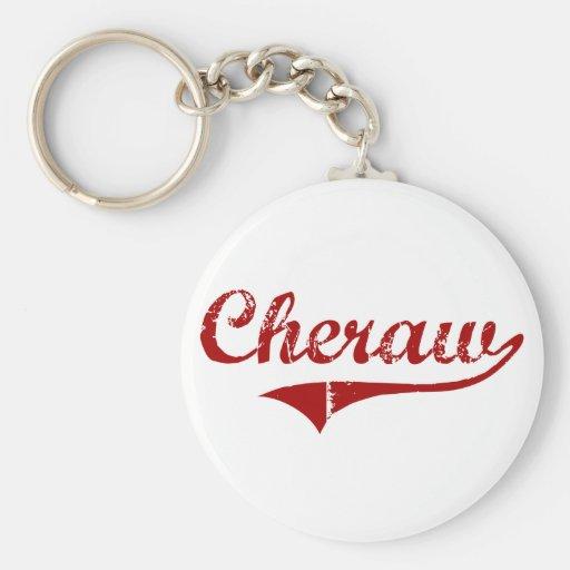 Diseño clásico de Cheraw Carolina del Sur Llaveros
