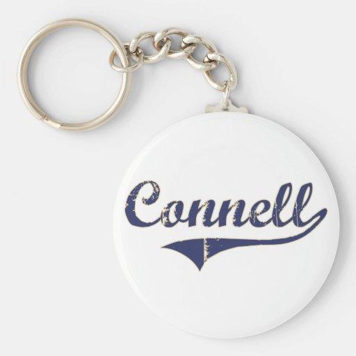 Diseño clásico de Connell Washington Llavero Redondo Tipo Pin