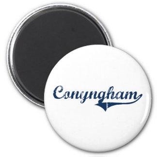 Diseño clásico de Conyngham Pennsylvania Imán Redondo 5 Cm
