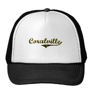 Diseño clásico de Coralville Iowa Gorros