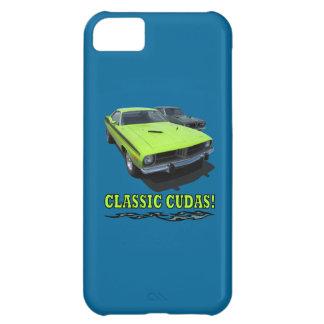 Diseño clásico de Cudas Carcasa iPhone 5C