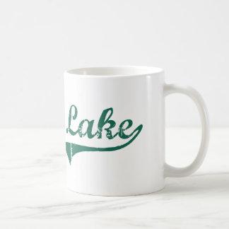 Diseño clásico de Dakota del Norte del lago devils Tazas