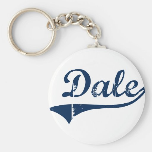Diseño clásico de Dale Pennsylvania Llavero