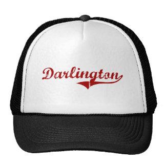 Diseño clásico de Darlington Carolina del Sur Gorras De Camionero