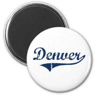 Diseño clásico de Denver Pennsylvania Imán Redondo 5 Cm
