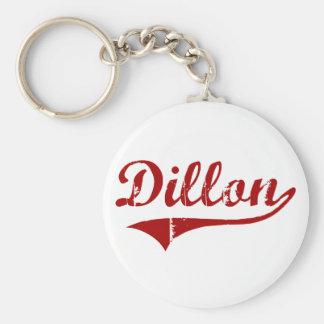 Diseño clásico de Dillon Carolina del Sur Llaveros Personalizados